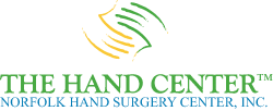 Logo, The Hand Center™ Norfolk Hand Surgical Center, Inc. - Hand Surgeon